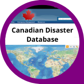 Button Canadian Disaster Database