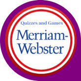 Button Merriam-Webster Quizzes and Games