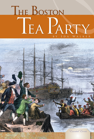 E-book button Boston Tea Party