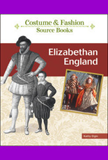 E-book button Elizabethan Fashion