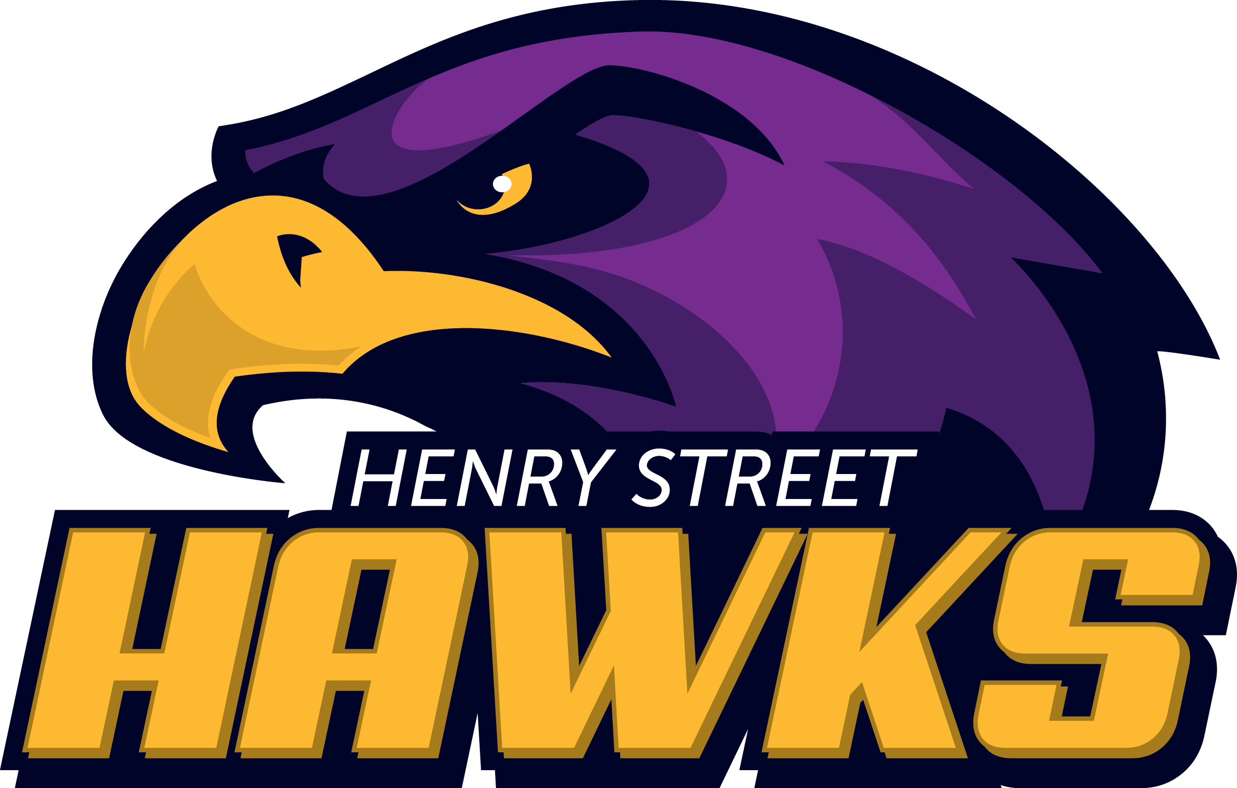 Henry St. High School logo